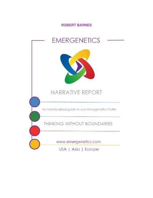 Report Narrativo Emergenetics Gruemp